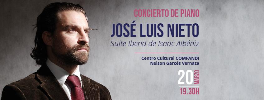 FUNIBER organiza concierto del pianista José Luis Nieto en Cali