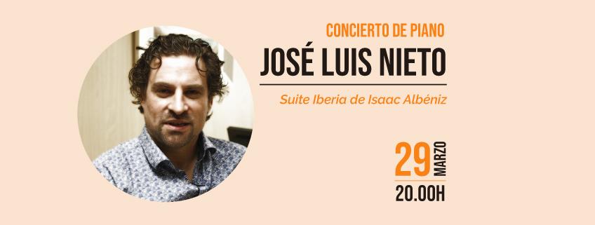 FUNIBER organiza concierto del pianista José Luis Nieto en Guayaquil