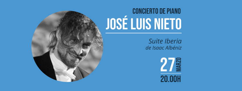 El Teatro Casa de la música de Quito acogerá concierto del pianista José Luis Nieto