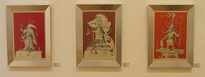 """La colección de Dalí """"Los sueños caprichosos de Pantagruel"""" se expone en Chile"""