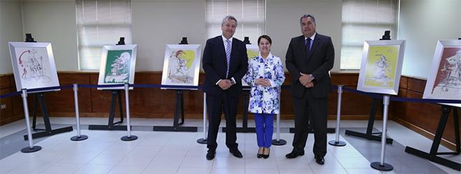 """""""Los Sueños Caprichosos de Pantagruel"""" de Salvador Dalí se expone en la Corte de Apelaciones de Coyhaique"""