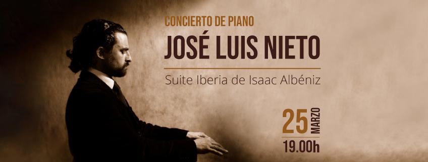El pianista José Luis Nieto finaliza su visita a Perú con un concierto en Lima
