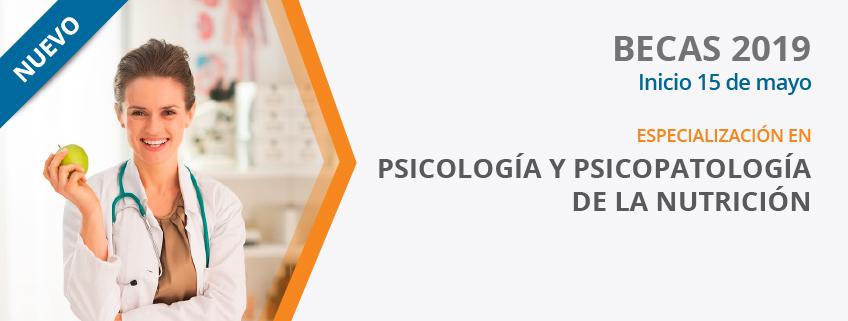 FUNIBER patrocina la nueva especialización en Psicología y Psicopatología de la Nutrición