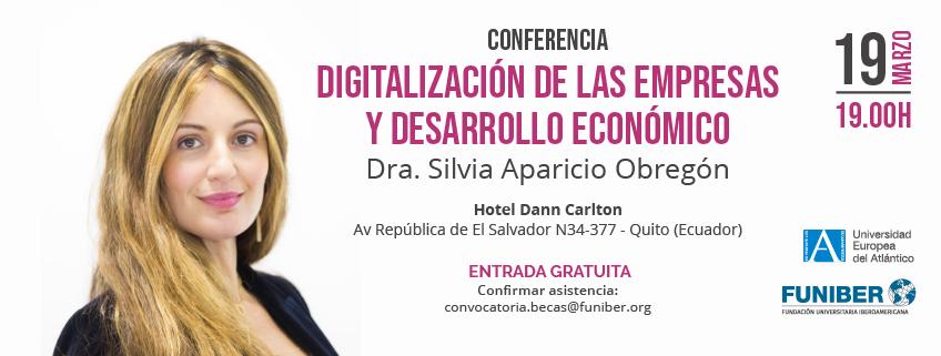 FUNIBER organiza en Ecuador una conferencia sobre la digitalización de las empresas