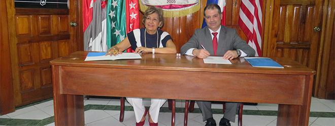 Acuerdo entre FIDBAN y la Universidad Tecnológica OTEIMA