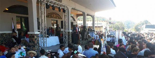 Director de FUNIBER en Panamá invitado de honor en aniversario de Boquete
