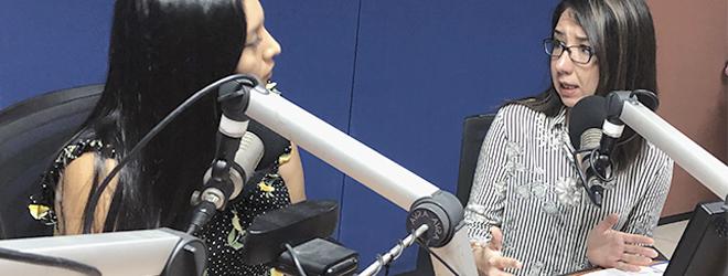 Entrevista a Gabriela Larrea en radio Morena de Guayaquil