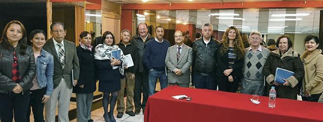 FUNIBER organiza conferencia en el Colegio de Economistas de Pichincha (Ecuador)