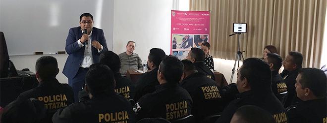 FUNIBER participa en el Ciclo de conferencias sobre la profesionalización policial