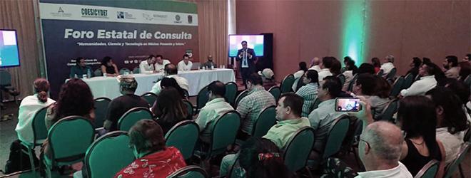"""FUNIBER Participa en el Foro Estatal de Consulta """"Humanidades, Ciencia y Tecnología en México: presente y futuro"""""""