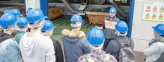 Alumnos becados por FUNIBER del Máster Universitario en Ingeniería Ambiental participan en unas jornadas presenciales en el campus de UNEATLANTICO