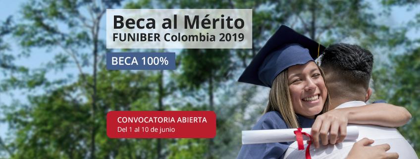 """Abierta la convocatoria para """"La beca al mérito FUNIBER Colombia 2019"""""""
