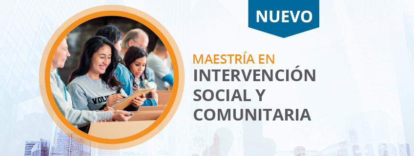 FUNIBER promueve la Nueva Maestría en Intervención Social y Comunitaria