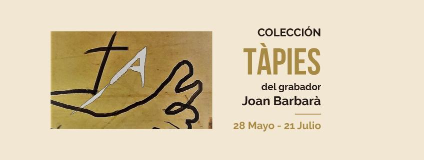 """La colección """"Tàpies"""" del grabador Joan Barbarà llega a Perú"""