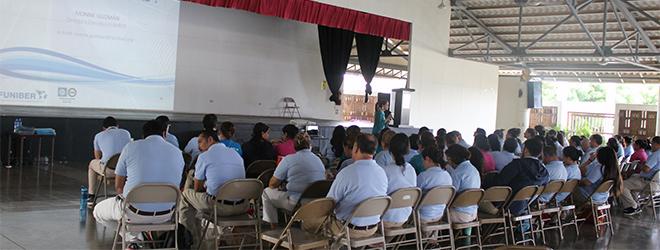 FUNIBER realiza sesión informativa en el Lincoln International Academy de Managua