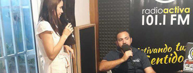 Entrevista a la directora de FUNIBER Nicaragua, en tres emisoras radiofónicas