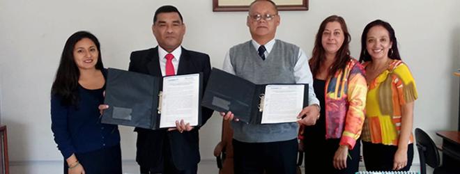 FUNIBER firma convenio de cooperación con la Universidad Autónoma San Francisco de Arequipa