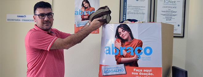 FUNIBER participa en campaña solidaria de recogida de ropa