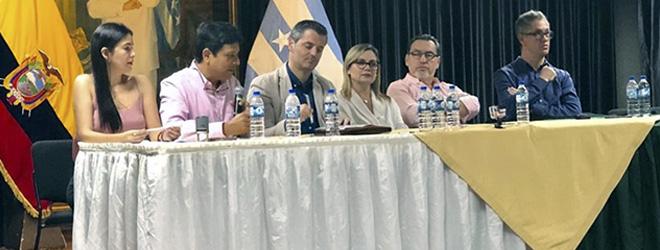 FUNIBER y la Asociación Ecuatoriana de Psicólogos firman convenio de colaboración