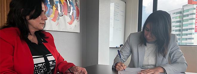 FUNIBER y la Universidad Tecnológica Israel firman convenio de colaboración