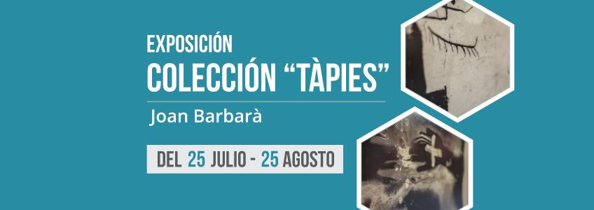 "La colección ""Tàpies"" del grabador Joan Barbarà llega a la Gran Biblioteca Pública de Lima"