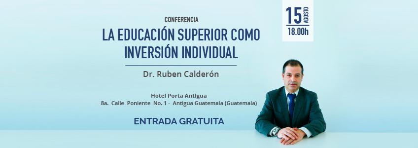 FUNIBER organiza conferencia sobre la educación superior en Guatemala