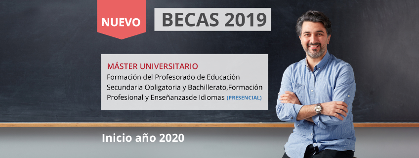 FUNIBER lanza convocatoria de becas para el nuevo Máster Universitario en Formación del profesorado de educación secundaria obligatoria y bachillerato, formación profesional y enseñanza de idiomas