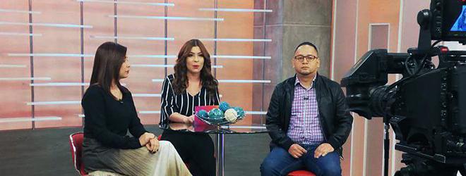 """Entrevista a la Directora de FUNIBER en Honduras en el programa de televisión """"Las mañanas del 5"""""""