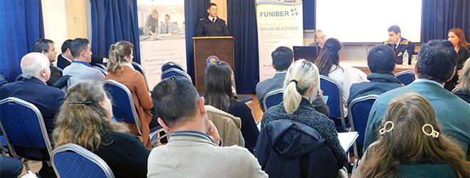 FUNIBER organiza exitoso taller de formación metodológica en la Dirección Nacional de Educación Policial de Uruguay