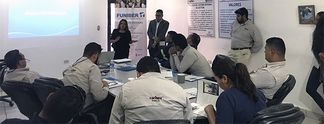 FUNIBER organizó en Honduras sesión informativa sobre Programa de Becas 2019