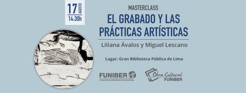 """FUNIBER realizará Masterclass gratuita en el marco de la exposición """"Tàpies"""" del grabador Joan Barbarà"""