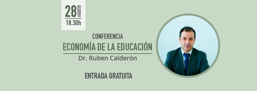 El Dr. Calderón imparte conferencia en Honduras sobre la Economía de la Educación