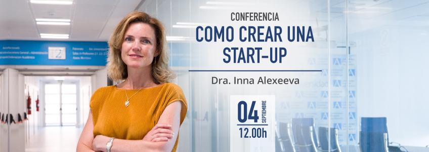 """FUNIBER organiza la conferencia """"Cómo crear una start-up"""" en México"""