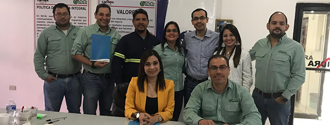 FUNIBER firma convenio de colaboración con la empresa INCAL en Honduras