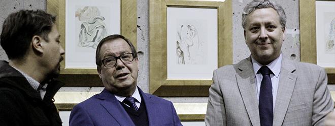 """Gran inauguración de """"La Divina Comedia"""" de Dalí en el Centro Cultural Espacio Matta de Chile"""