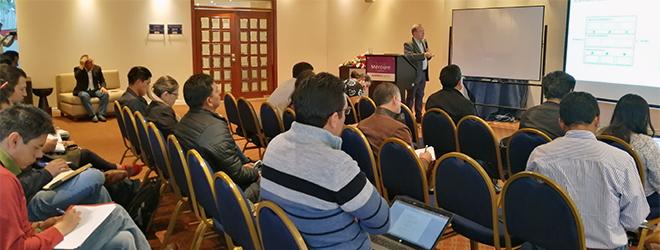 Exitosos talleres presenciales en Ecuador sobre metodología de proyectos