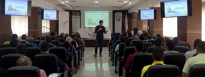Exitosas conferencias del Dr. Aurelio Corral para el Comité Olímpico Ecuatoriano de Guayaquil