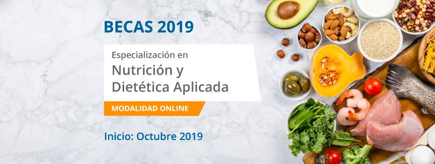 FUNIBER lanza convocatoria de becas para cursar la especialización en Nutrición y Dietética Aplicada