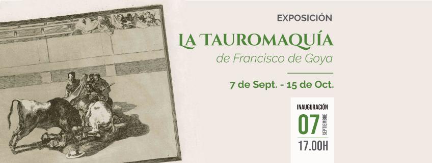 "Exposición ""La Tauromaquia"" de Goya en Bogotá"