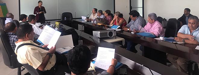 FUNIBER imparte charla informativa a directores de centros educativos de Tegucigalpa