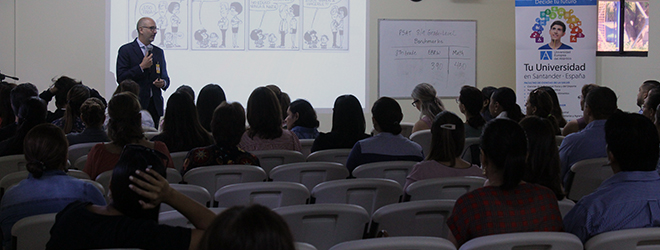 FUNIBER organiza conferencia en el colegio Americano de Managua
