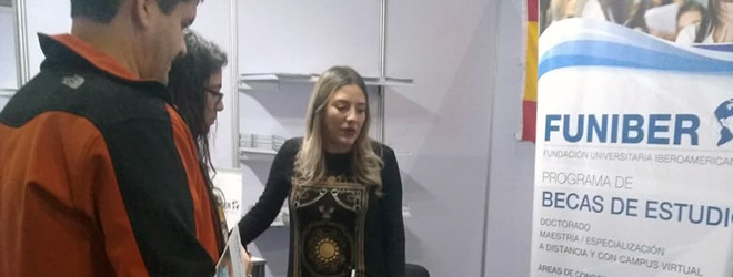 FUNIBER presente en el encuentro ExpoHospital de Chile