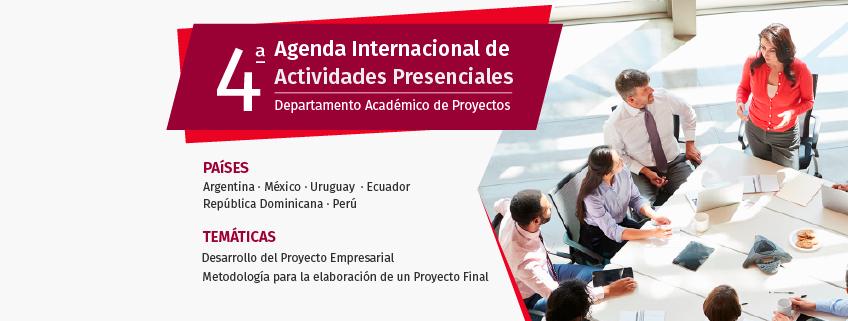 FUNIBER organiza la 4° Agenda Internacional de Actividades Presenciales