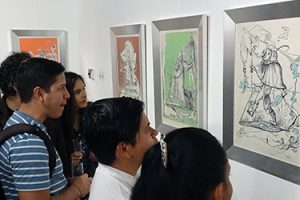 gran-exito-en-la-inauguracion-de-la-exposicion-de-dali-en-el-museo-centro-cultural-de-manta