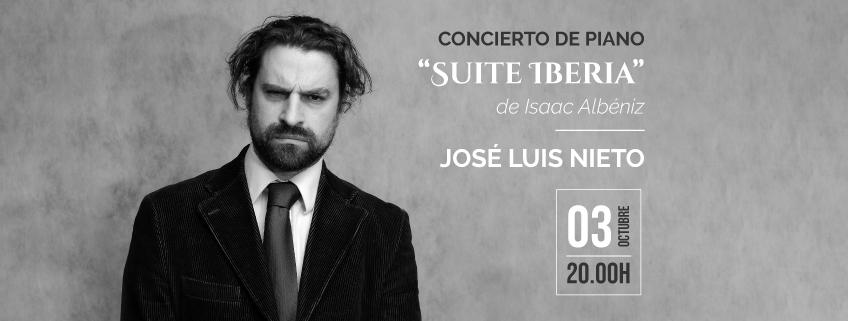 El Centro de Formación de la Cooperación Española en Santa Cruz acogerá concierto del pianista José Luis Nieto