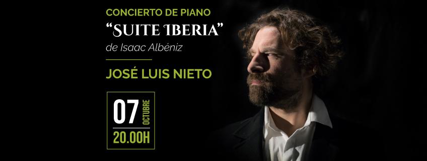 FUNIBER patrocina concierto de José Luis Nieto en Asunción