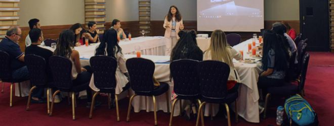 La Directora de Admisiones Internacional de FUNIBER se reúne con nuevos alumnos dominicanos becados
