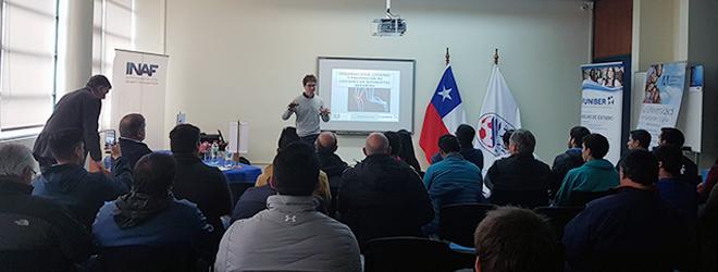 Magistrales conferencias sobre entrenamiento deportivo y prevención de lesiones en Chile