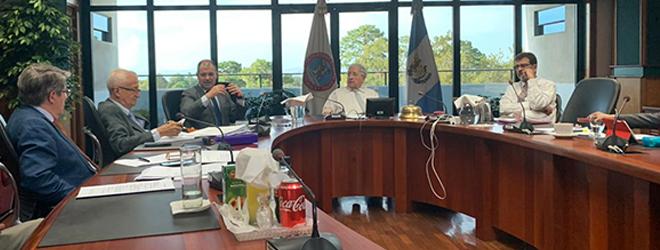 Reunión entre FUNIBER, UNEATLANTICO y la Universidad Mariano Gálvez en Guatemala