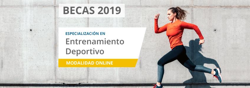 FUNIBER lanza convocatoria de becas para cursar la especialización en Entrenamiento Deportivo